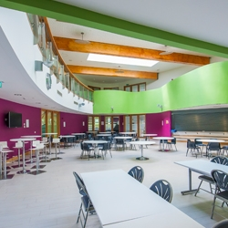 Canteen at Elms Bank College