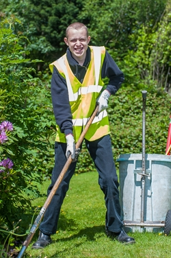 Work placement pupil at Elms Bank
