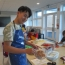 Pupil taking part in applied learning