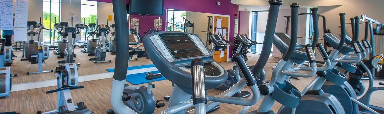 Gym at Elms Bank