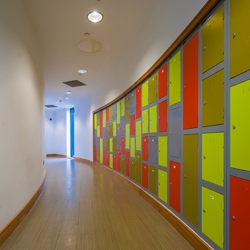 Hallway at Elms Bank