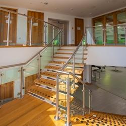Stairway at Elms Bank